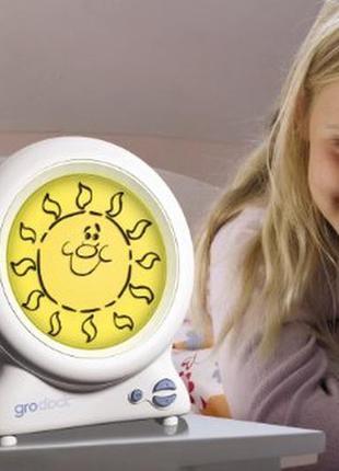 Gro gro-clock тренажер для сна часы будильник детские, ночник