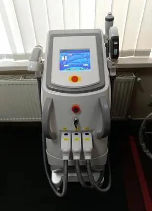 АКЦИЯ! Аппарат для эпиляции ELOS (IPL) + RF + Неодимовый лазер(та