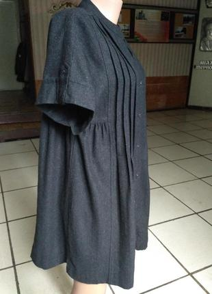 Туника, блуза из тонкой шерсти