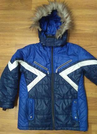 Зимняя куртка на подростка 40 размер