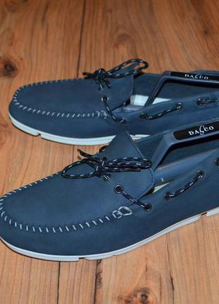 Туфли мокасины clarks - 42 размер кожа