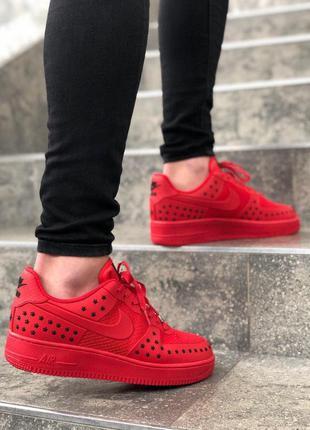 Мужские кроссовки найк nike air force red