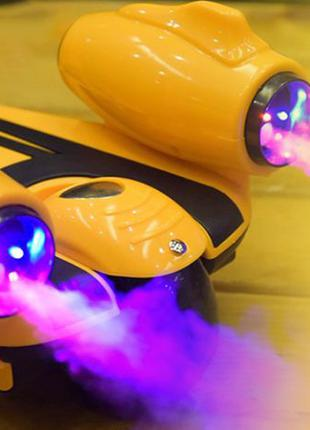 Самокат-скутер с турбиной