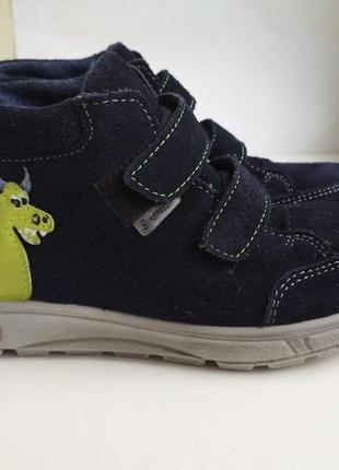 Демисезонные ботинки ricosta sympatex (германия) р.30 с мигалками