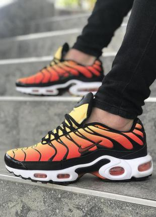 🔥nike air max tn orange black white🔥