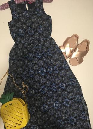 Модное платье на 8-9 лет