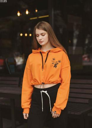 Толстовка staff mini orange