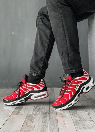 Nike air max tn red white black