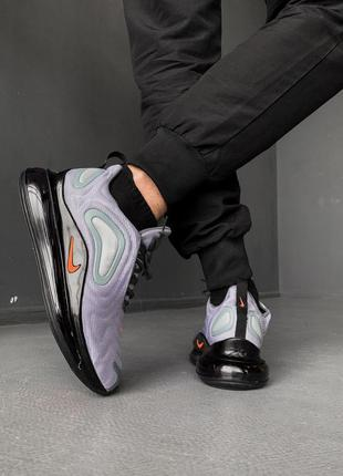Nike air max 720 light violet black