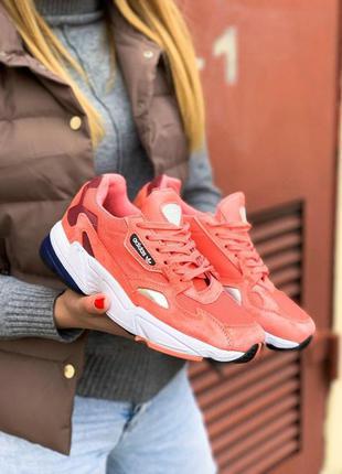 Adidas falcone женские спортивные кроссовки адидас коралловый ...