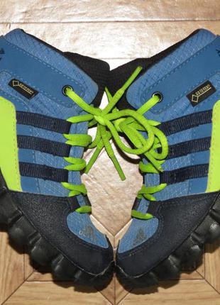 Детские ботинки кроссовки adidas terrex gore-tex{оригинал}р.24