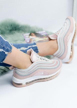 Nike air max 97 женские кроссовки найк (весна-лето-осень)😍