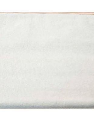 Белое махровое полотенце, отельное, Турция 530г/м2. Опт и розн...