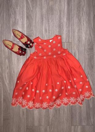 Детское летнее платье, сарафан