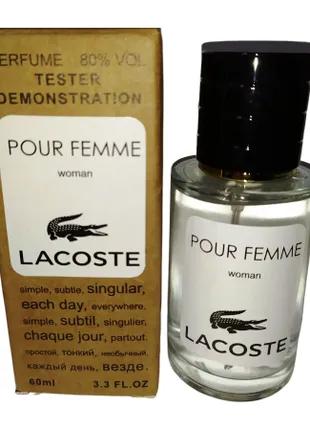 LACOSTE Pour Femme 60 мл.  Teстер женский