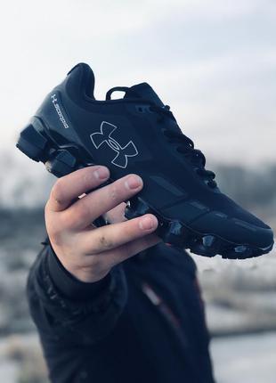 Мужские кроссовки under armour scorpio running shoes black/white