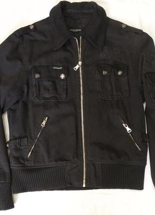 Мужская куртка бомбер «dolce&gabbana»  р. 48-50 (m)