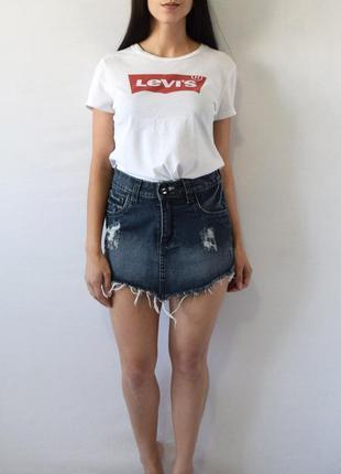 Джинсовая юбка tnw