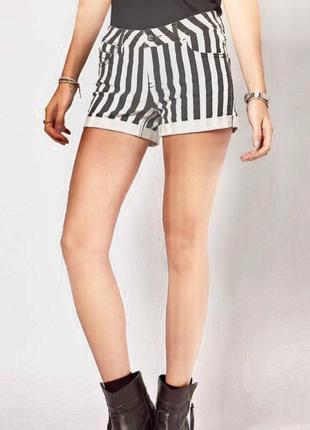 Джинсовые шорты в полоску vero moda # розвантажуюсь
