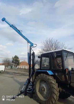 Виготовляємо та продаєм кран на задню навіску тракторів  ЮМЗ ,МТЗ