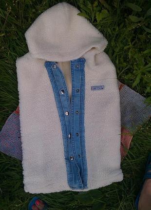 Зимний мешочек для новорожденного