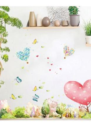 Интерьерная декоративная наклейка на стену в детскую для детск...