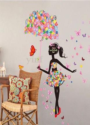 Декоративна наклейка на стіну в дитячу кімнату стену детскую в...