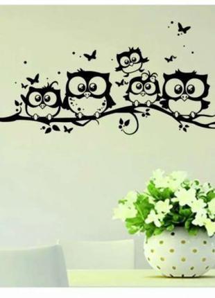 Интерьерная декоративная наклейка, виниловая, на стену , мебел...