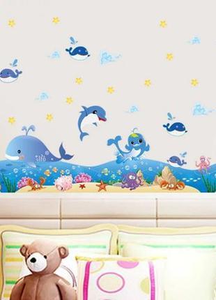 Виниловые наклейки на стену для кухни детской плитки в ванной ...