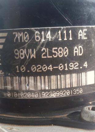 Блок управления ABS 1J0907379G, 10094903403, 7M0614111AE,