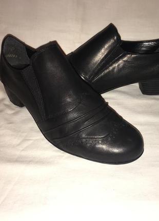 Туфли *rieker* кожа германия р.41-42 (27.50)