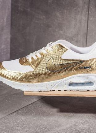 Кроссовки Nike Air Max Gold   размер 39-й   найк золотистые