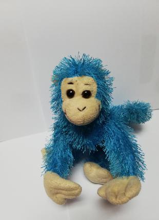 Мягкая игрушка Голубая обезьянка