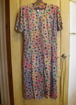 Красивое платье халат большой размер