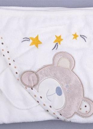 Детское полотенце уголок. Полотенце для новорожденных