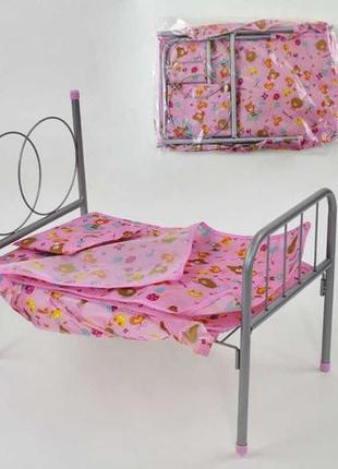 Кроватка для кукол, кроватка люлька для пупсов