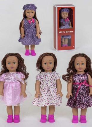 Красивая, большая кукла в коробке, с длинными волосами. Girl's...
