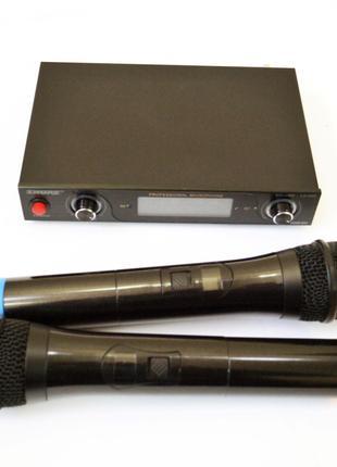 Радиосистема Shure LX-800 база 2 радиомикрофона