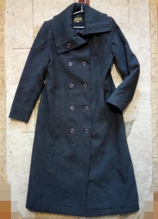 Стильное, кашемировое, длинное, демисезонное пальто