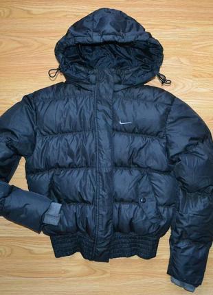 Зимняя пуховая куртка nike оригинал