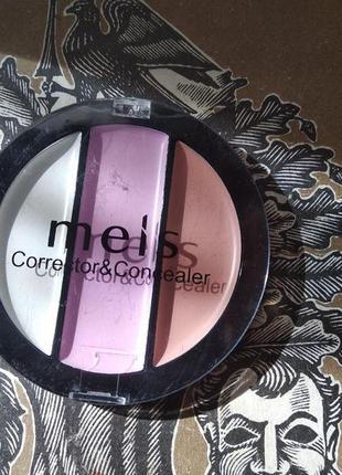 Тональное средство meis corrector&conсealer 3 цвета тон 01