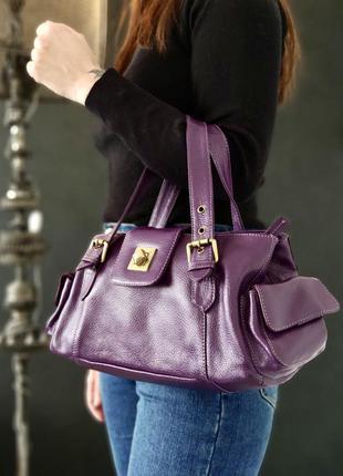 Victoria jayne. сумка из натуральной кожи.