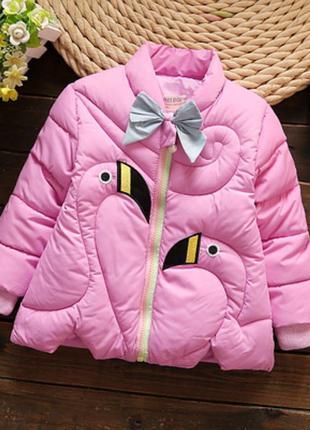 Деми куртка на 4 лет