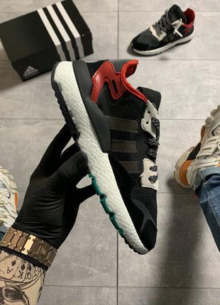 Adidas Nite Jogger Black Red