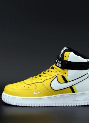 Nike air force yellow ♦ мужские кроссовки найк ♦ весна осень