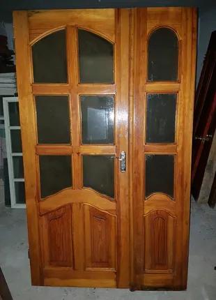Двери межкомнатные, двустворчатые