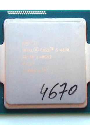 Intel Core i5-4670 socket 1150 - 3.4GHz (3.8)