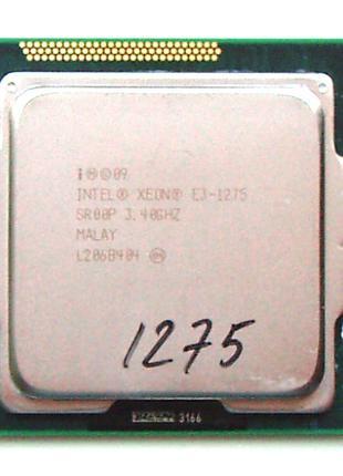 Intel Xeon E3-1275 ( Core i7-2600 ) socket 1155 - 3.4GHz (3.8)