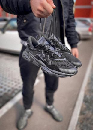 Кроссовки адидас черные