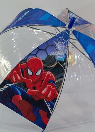Зонт для мальчика спайдермен человек паук